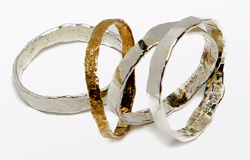 Four stacking rings